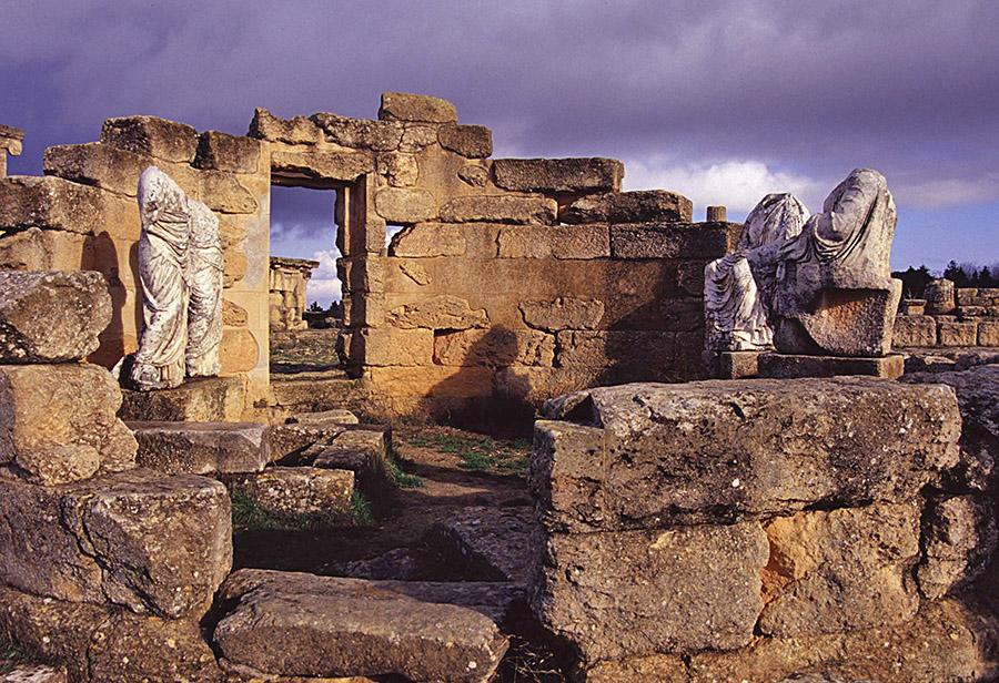 Cirene, il Santuario di Demetra e Kore