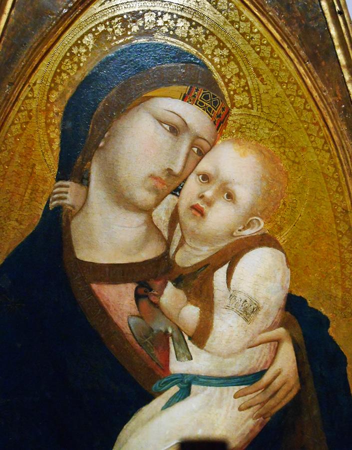 Ambrogio Lorenzetti, Madonna di Rapolano