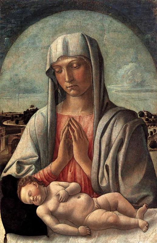 Giovanni Bellini. Madonna col bambino