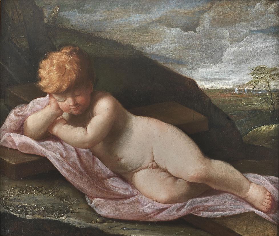 Guido Reni, Gesù Bambino addormentato sulla croce