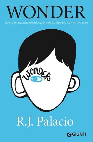 Wonder, la copertina del libro di R.J. Palacio