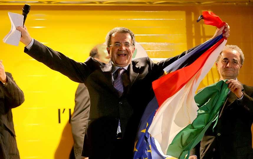 Dopo aver sconfitto Berlusconi per la seconda volta, Prodi rimarrà presidente del Consiglio dal 17 maggio 2006 all'8 maggio 2008