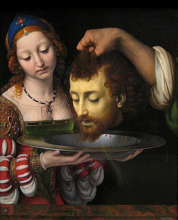 Andrea Solari, Salomè con la testa di San Giovanni Battista