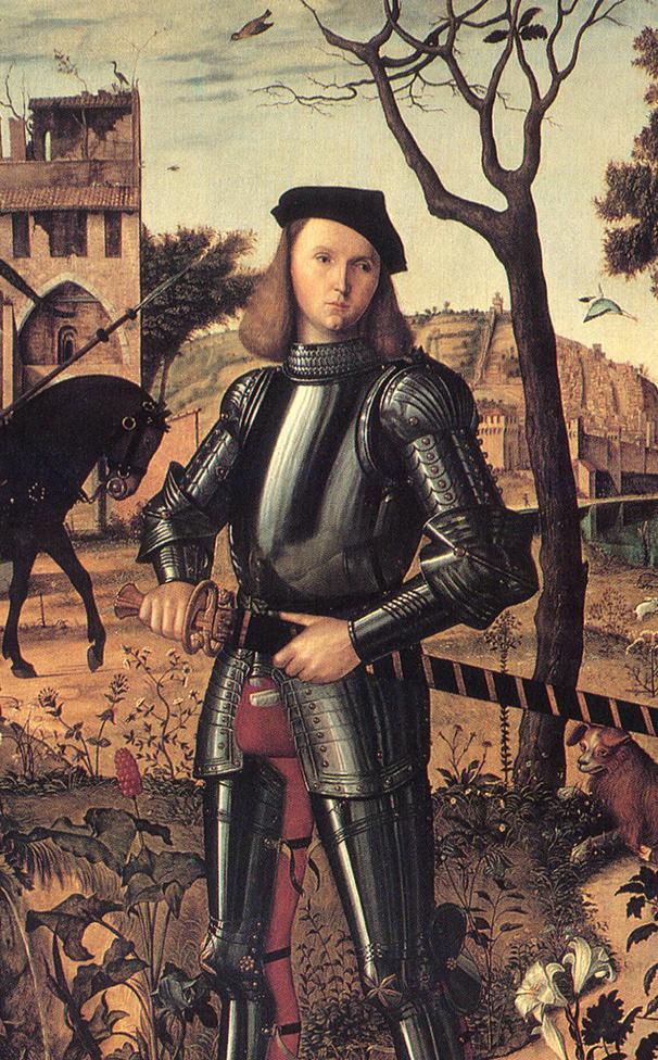 Vittore Carpaccio, Ritratto di giovane cavaliere