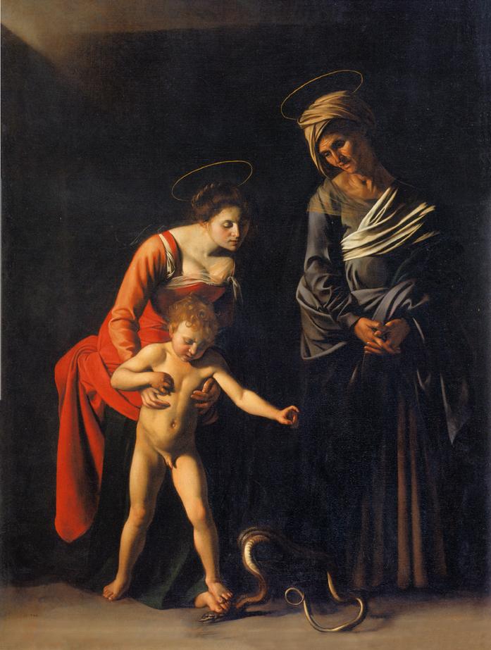 Caravaggio. Madonna dei palafrenieri