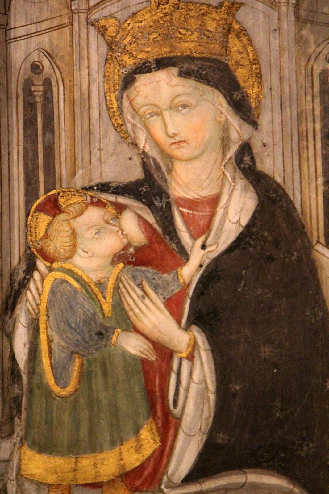 Madonna del latte. Santuario della Madonna di Campagna a Verbania