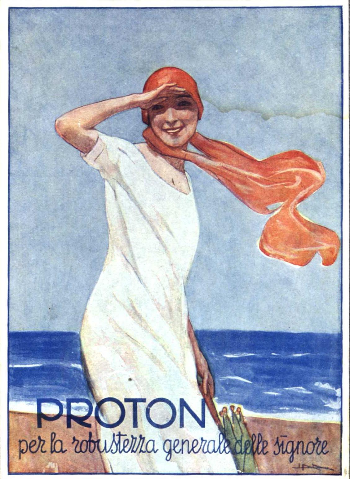 Manifesto di Metlicovitz per il Proton
