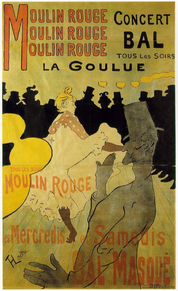 Moulin Rouge, la goulue