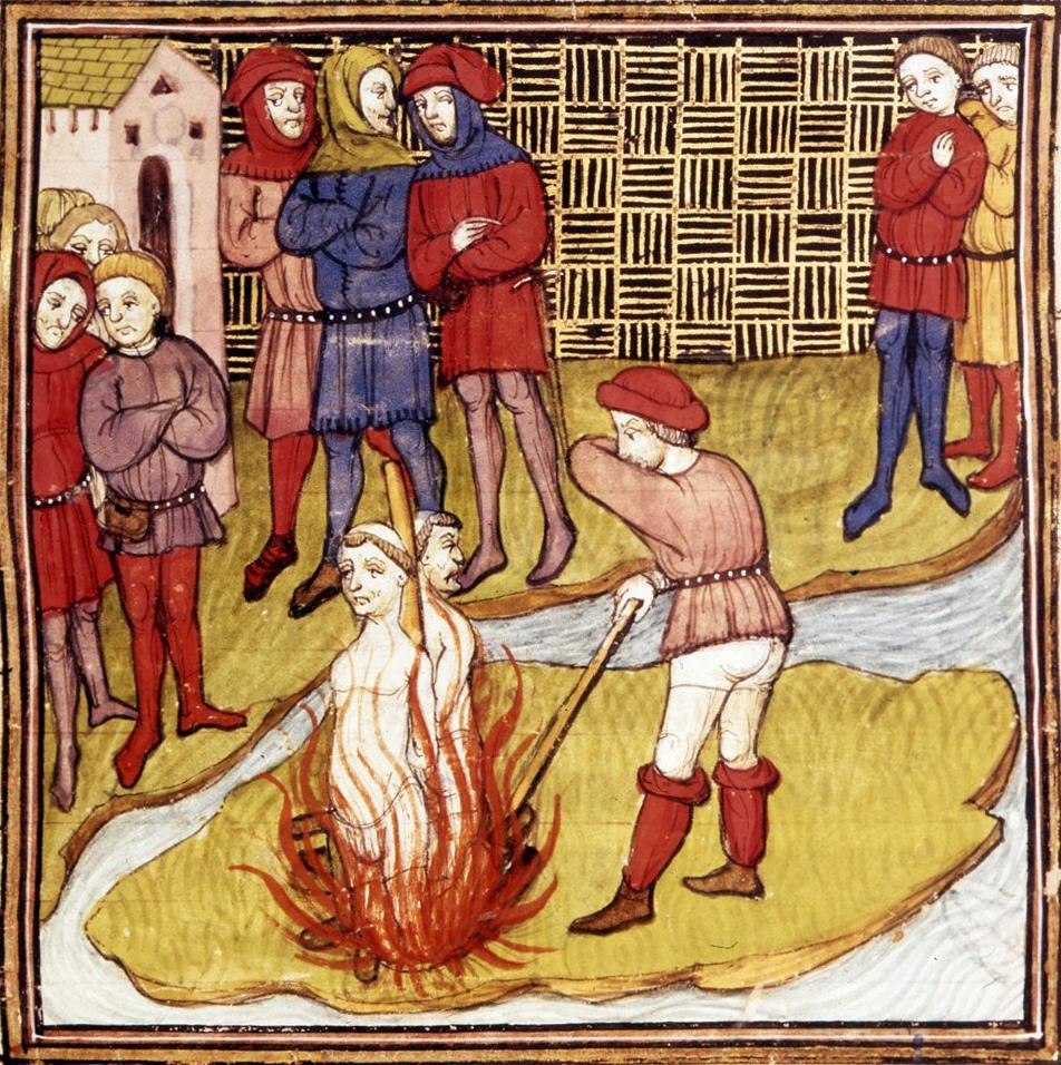Il rogo dei Templari