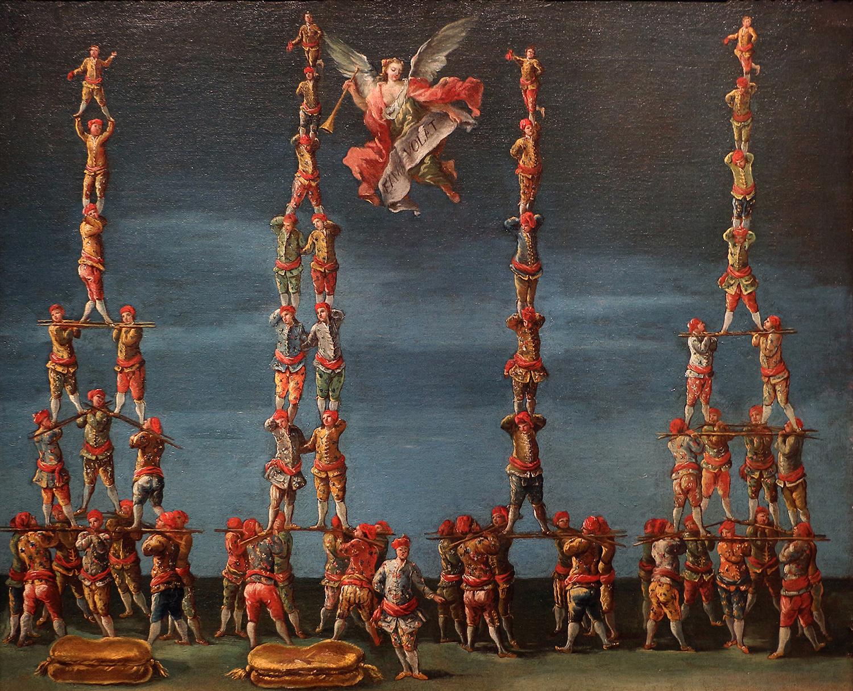 Francesco Guardi (attr.). Le forze  d'Ercole