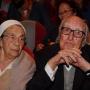 Andrea Camilleri e la moglie Rosetta.