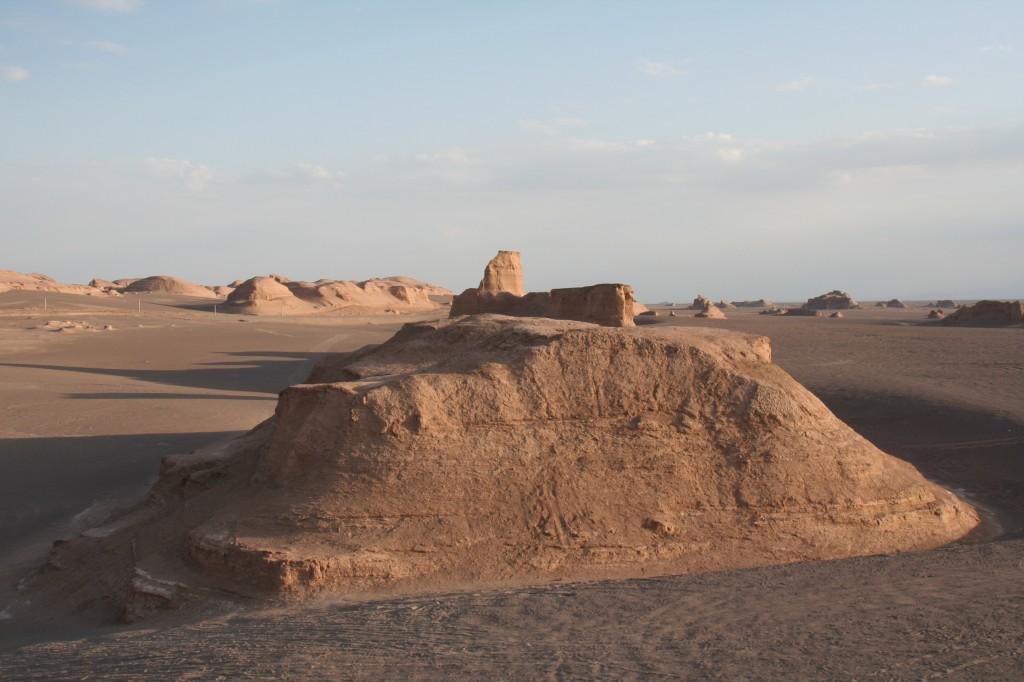 I colori del deserto di Kalut, Iran, foto di Rodolfo Amato.