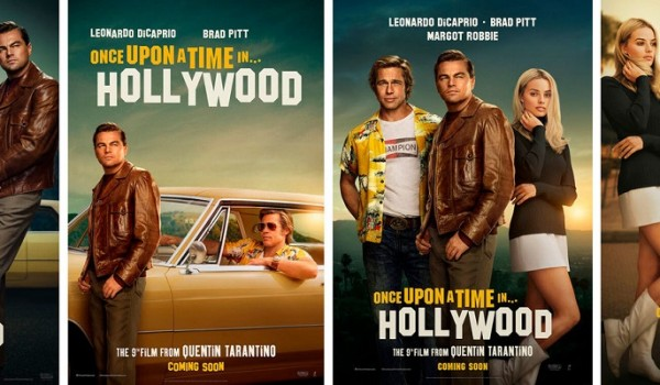 Once-Upon-a-Time-in-Hollywood-brad pitt-posters