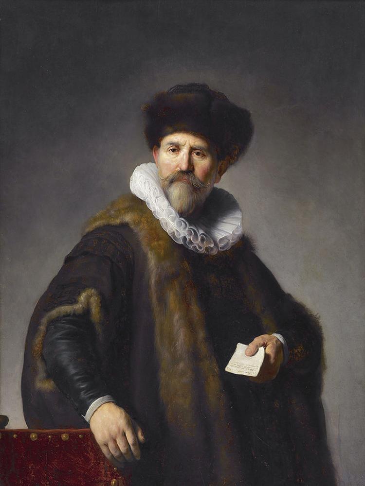 Ritratto di Rijn Nicolaes Ruts