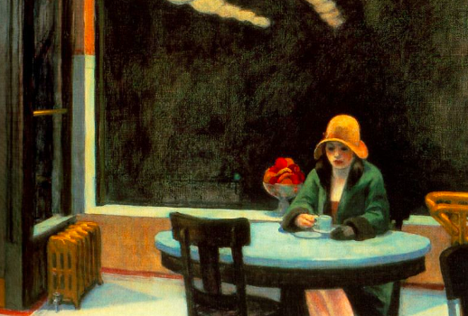 Edward Hopper, Automat, 1927