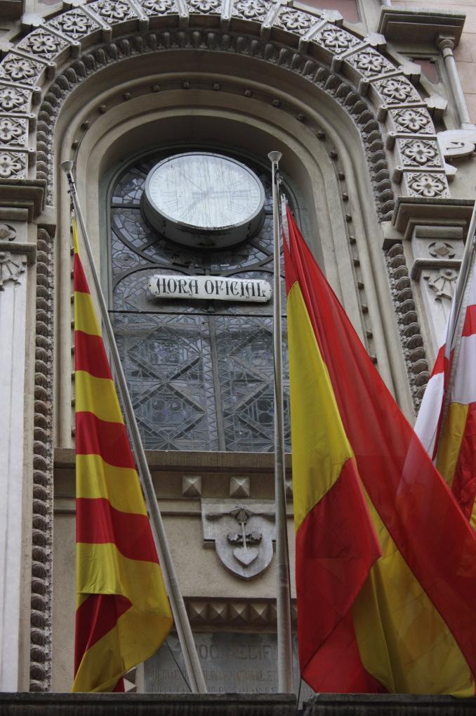 Scorcio di Barcellona (Regno di Spagna). [foto: G.P. Miscione]