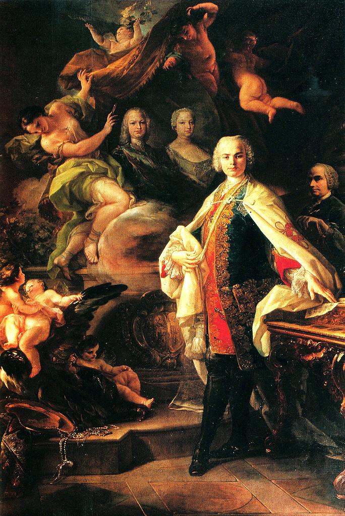 Domenico Giaquinto, ritratto di Farinelli