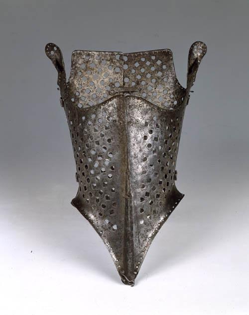 Corsetto in ferro del museo Stibbert a Firenze, 1556