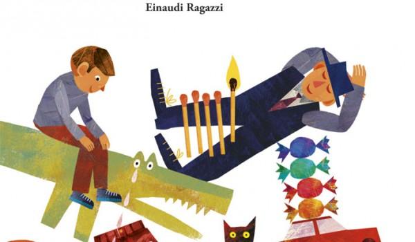 Cover_Gianni Rodari, Il libro dei perché, Einaudi Ragazzi