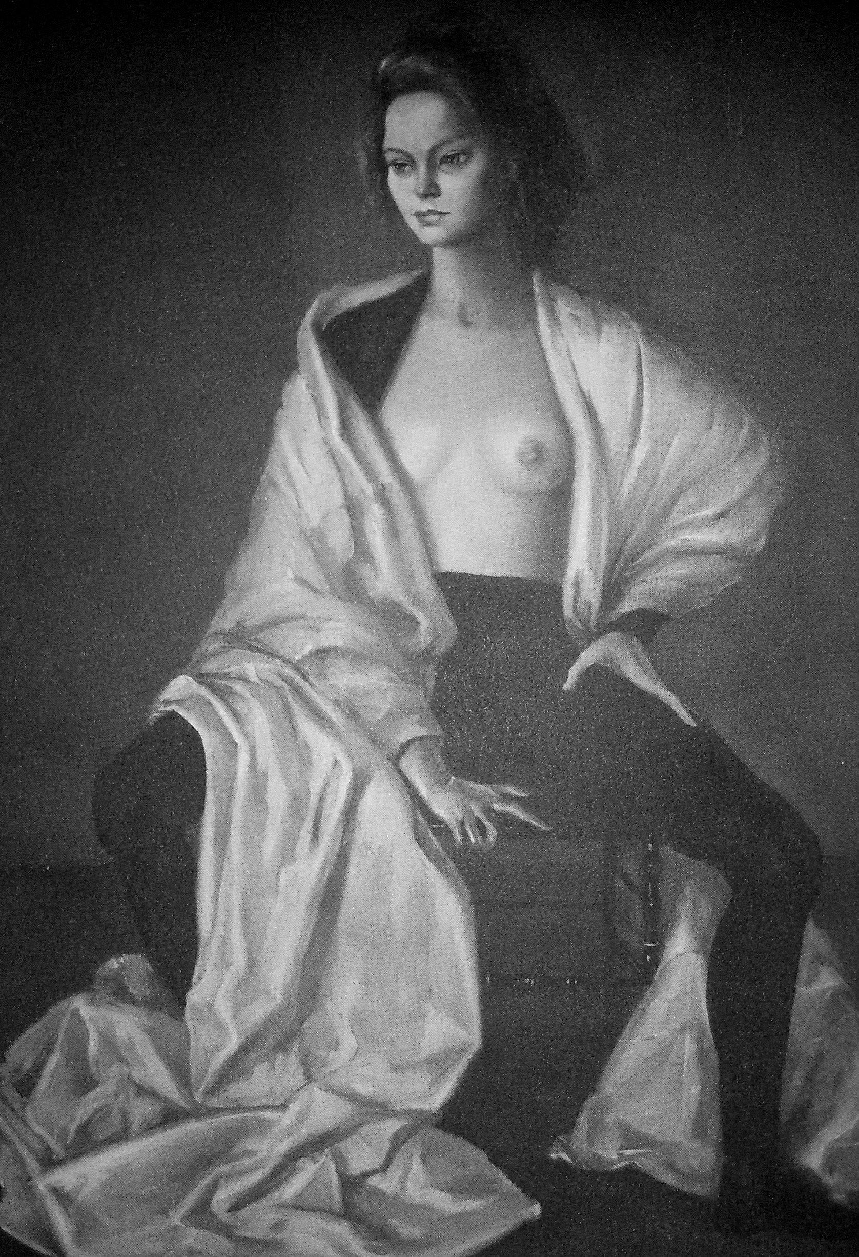 """""""Ritratto di Alida Valli"""", 1948"""