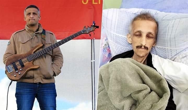 IBRAHIM, com'era prima e dopo lo sciopero della fame.