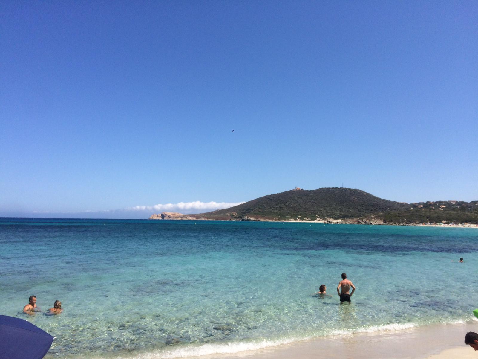 La spiaggia di Ghjunchitu, vicino a Ile Rousse.