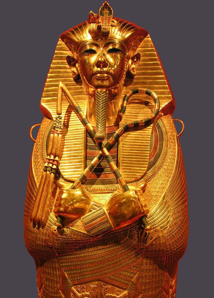 Cofano in oro massiccio