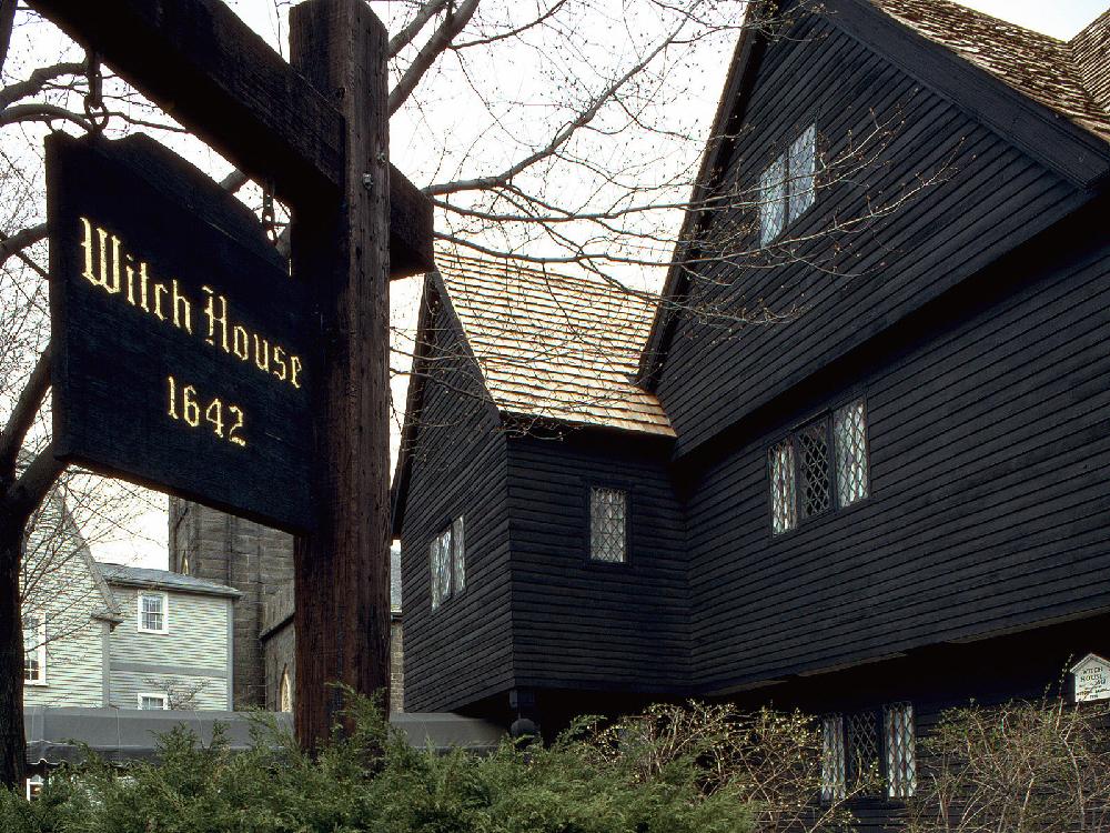 La casa delle streghe a Salem, Massachusetts