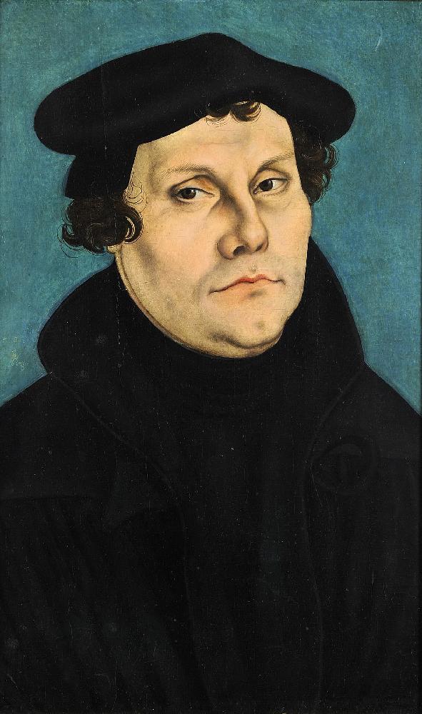 Lucas Cranach. Ritratto di Martin Lutero