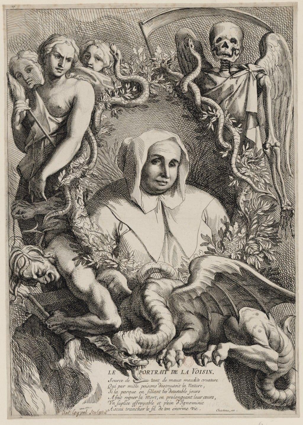 Ritratto di Catherine Deshayes, la Voisin