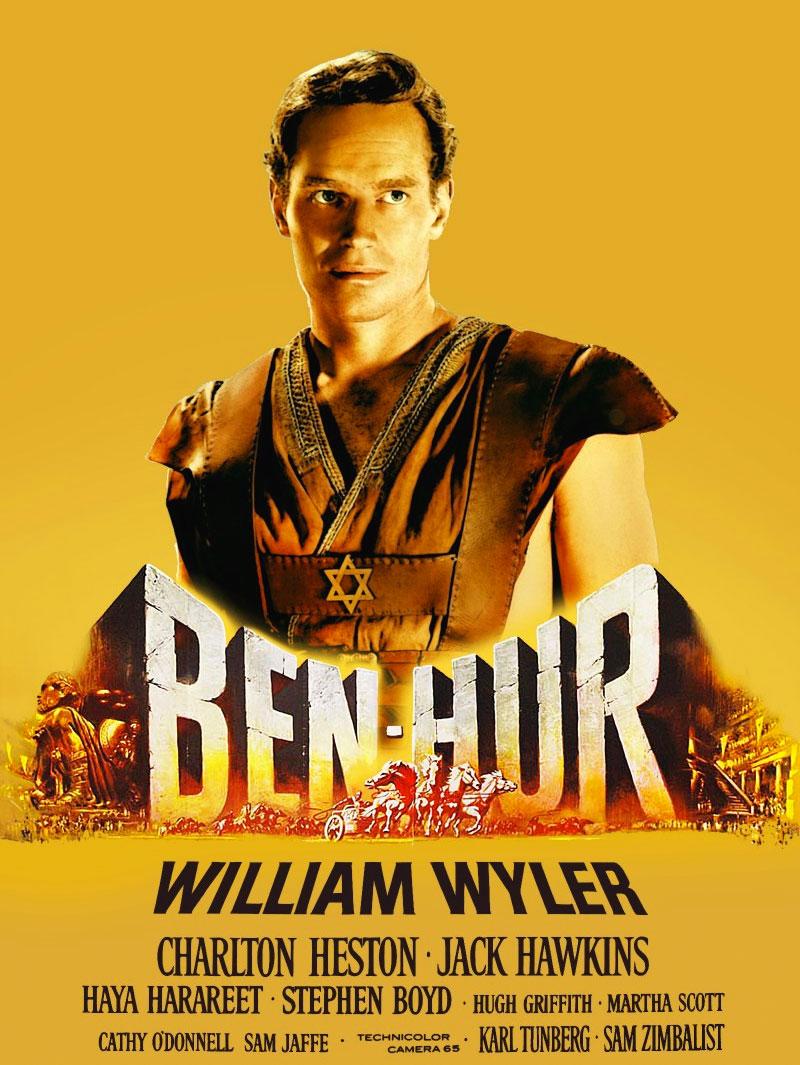Manifesto del film Ben-Hur