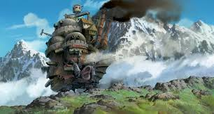 Ora, a costo di ripetersi: Miyazaki è un genio. Qui costruisce una favola tesissima e sofferta, ambientata in una guerra astorica e con motivazioni incomprensibili (come tutte le guerre). Ma il castello è un luogo magico, con uno spaventapasseri semoventi che gli fa strada e dentro un mondo in cui non vale lo spazio tridimensionale. Si fa prima a vederlo che a provare a spiegarlo, come succede sempre con Miyazaki