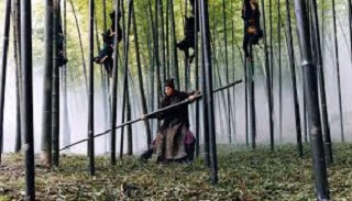Dopo Hero, il maestro Yimou prosegue con il wu xia, il genere firm-de-menasse nel medioevo cinese. Non sarebbe niente di memorabile se non fosse per la vera e propria esperienza sensoriale dello scontro nella foresta di bambù, che dà il titolo italiano al film
