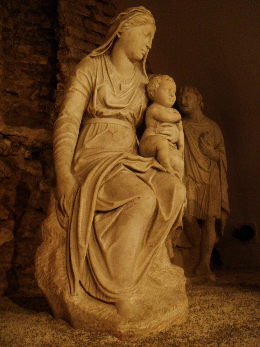 La Vergine nel presepio di Arnolfo di cambio