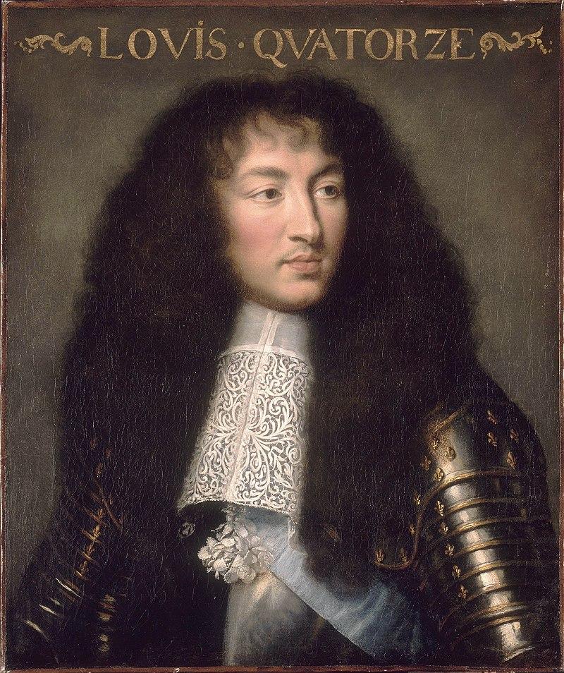 Charles Lebrun, Luigi XIV re di Francia