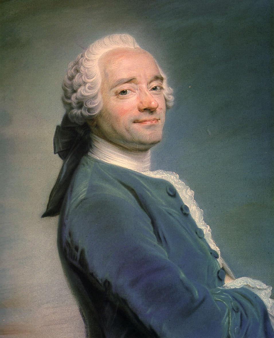 Maurice Quentin de La Tour. Autoritratto