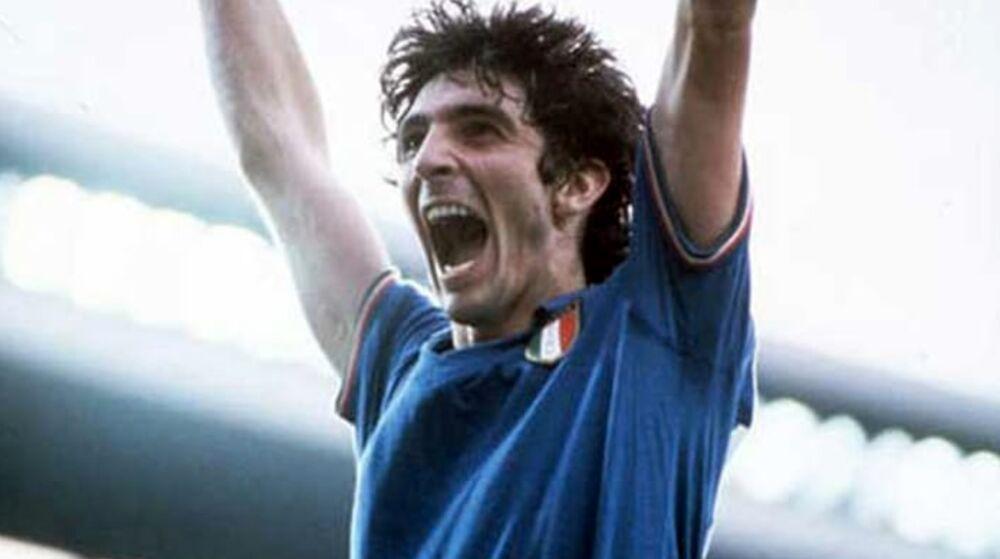 Mondiali di Spagna 1982, Paolo Rossi esulta