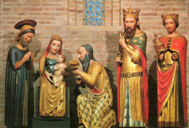 Presepe della basilica di Santo Stefano a Bologna