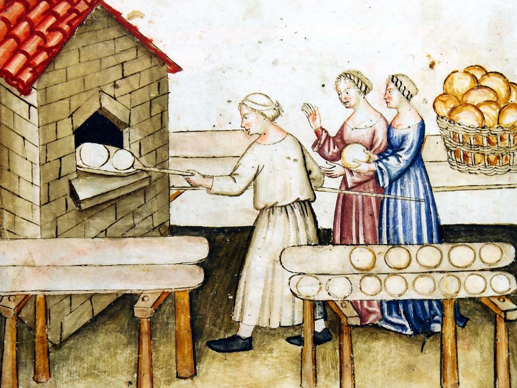 Il pane nel Medioevo