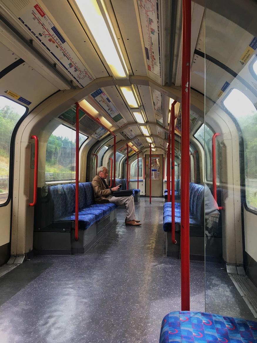 Metropolitana di Londra Central line