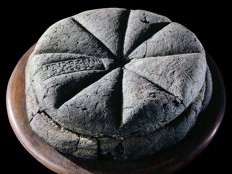 i pane ritrovata ad Ercolano