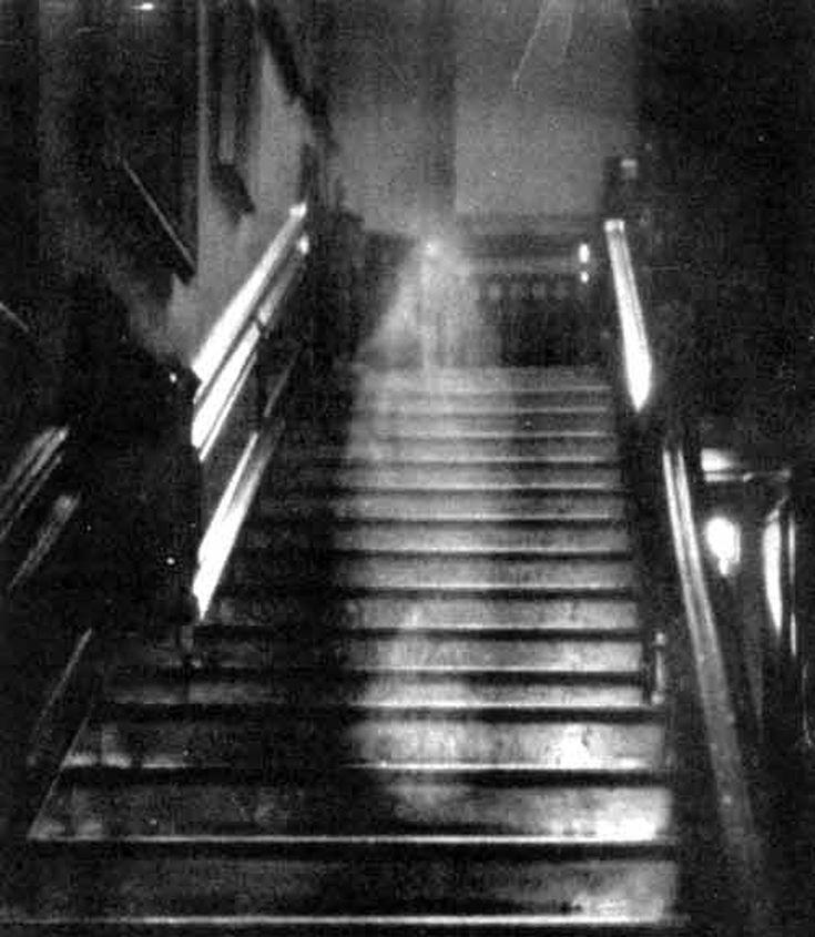 Foto di un fantasma