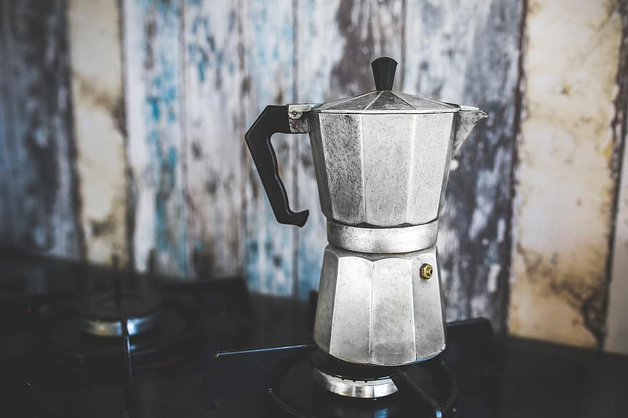 coffee-pot-maker-percolator-italian-octagon-octa-silver-aluminium