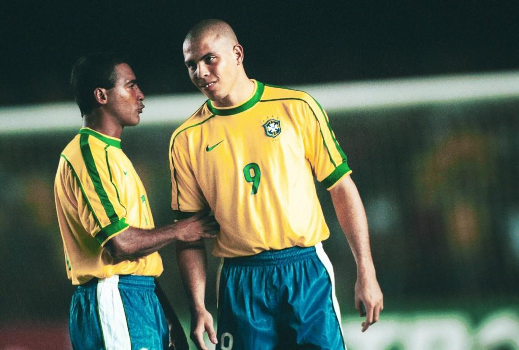 La devastante coppia d'attacco Romario-Ronaldo