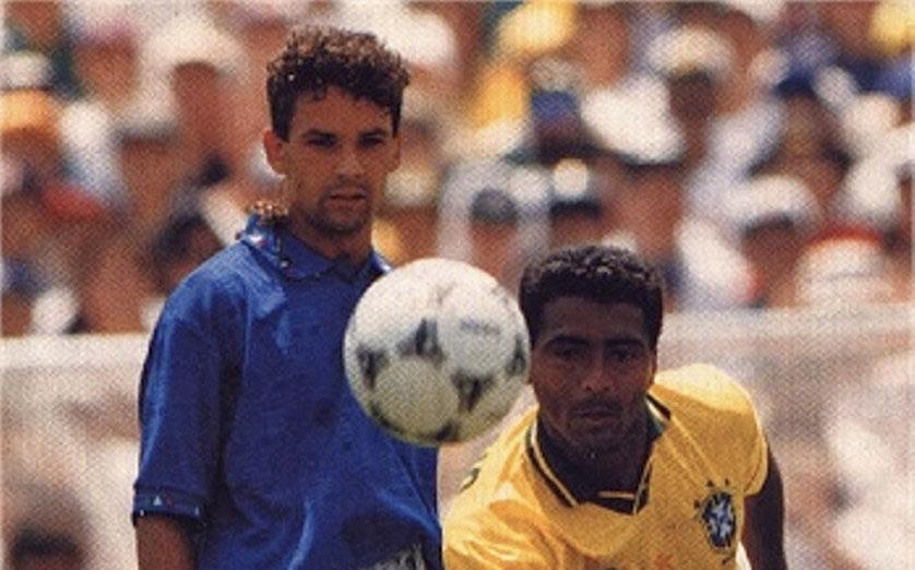Roberto Baggio e Romario