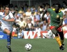 Italia-Camerun ai Mondiali in Spagna nel 1982