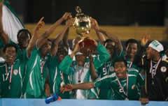 La Nigeria vince la Coppa d'Africa nel 1996
