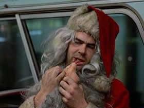 Dan Aykroyd, il Babbo Natale più schifoso della storia