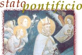 con silvestro I si da' il là allo stato pontificio