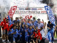 India campione del mondo di cricket 2011